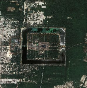 Angkor from the air