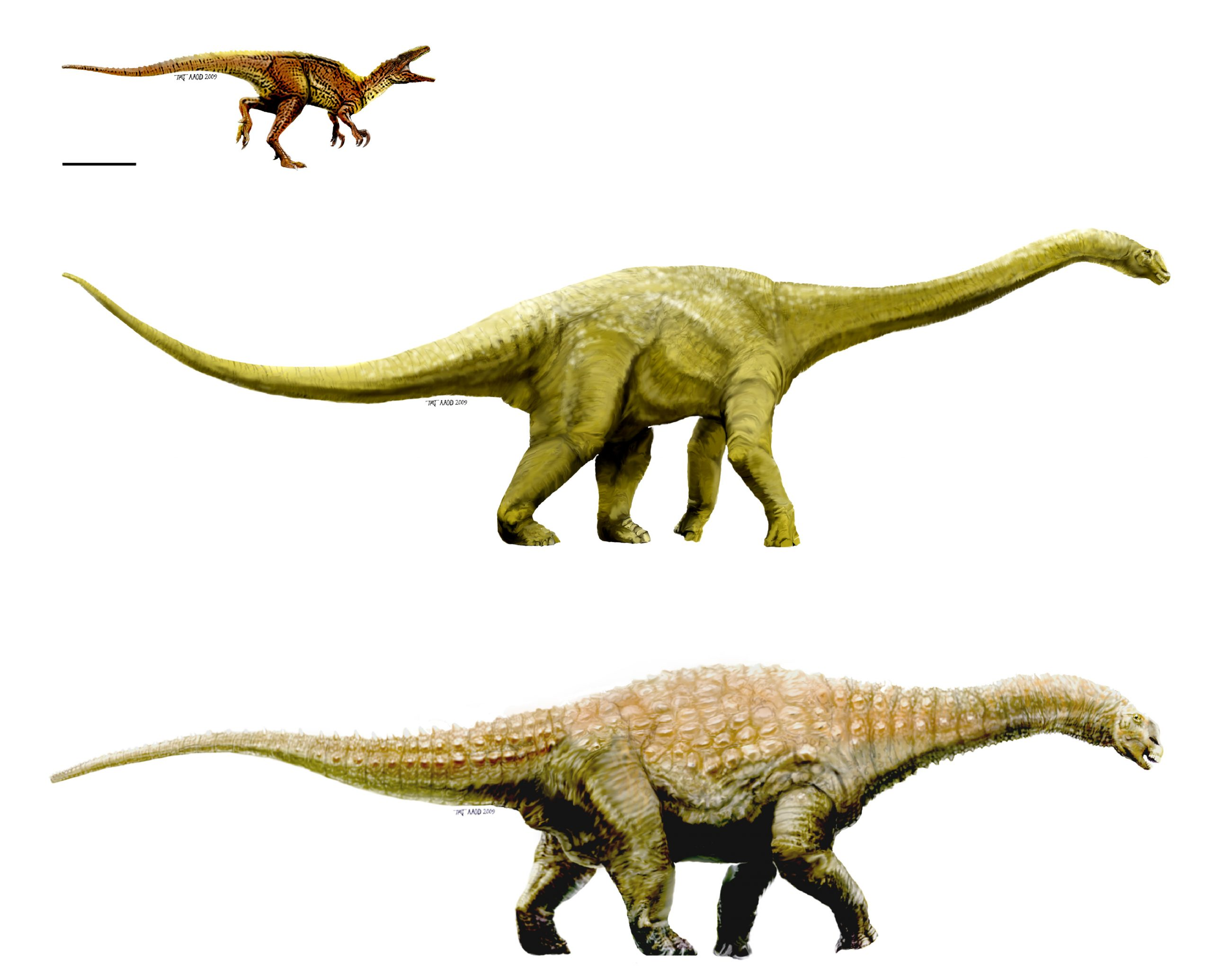 Artistic Representations of the Dinosaurs